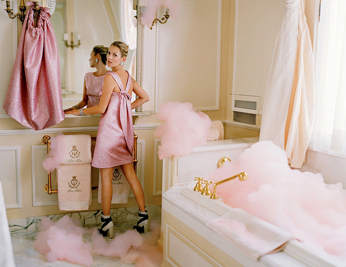 Kate Moss Pink Bubble bath