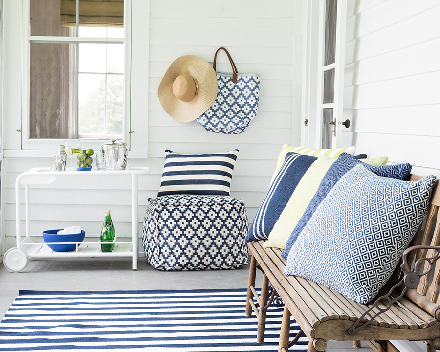 Outdoor Rug in Coastal Style from Dash and Albert