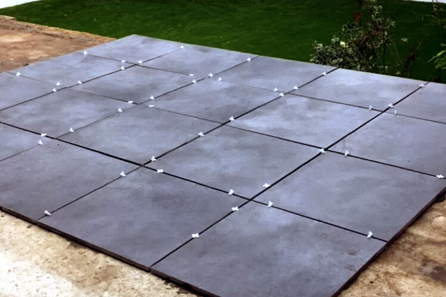Which Adhesive Amp Grout To Use With Outdoor Tiles Tile
