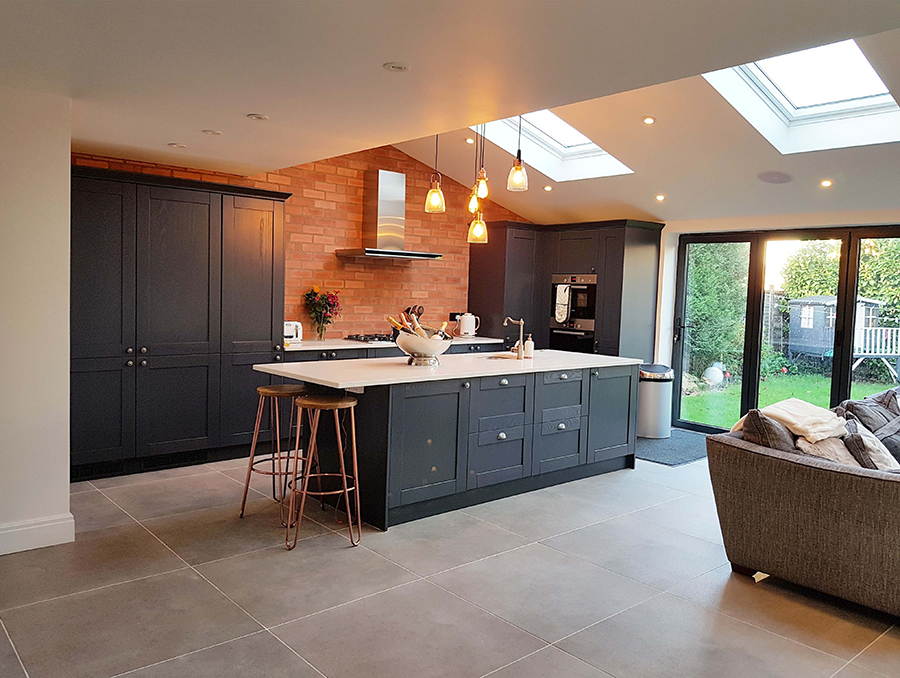 Dunsen Grey Large Format Floor Tiles | Tile Mountain