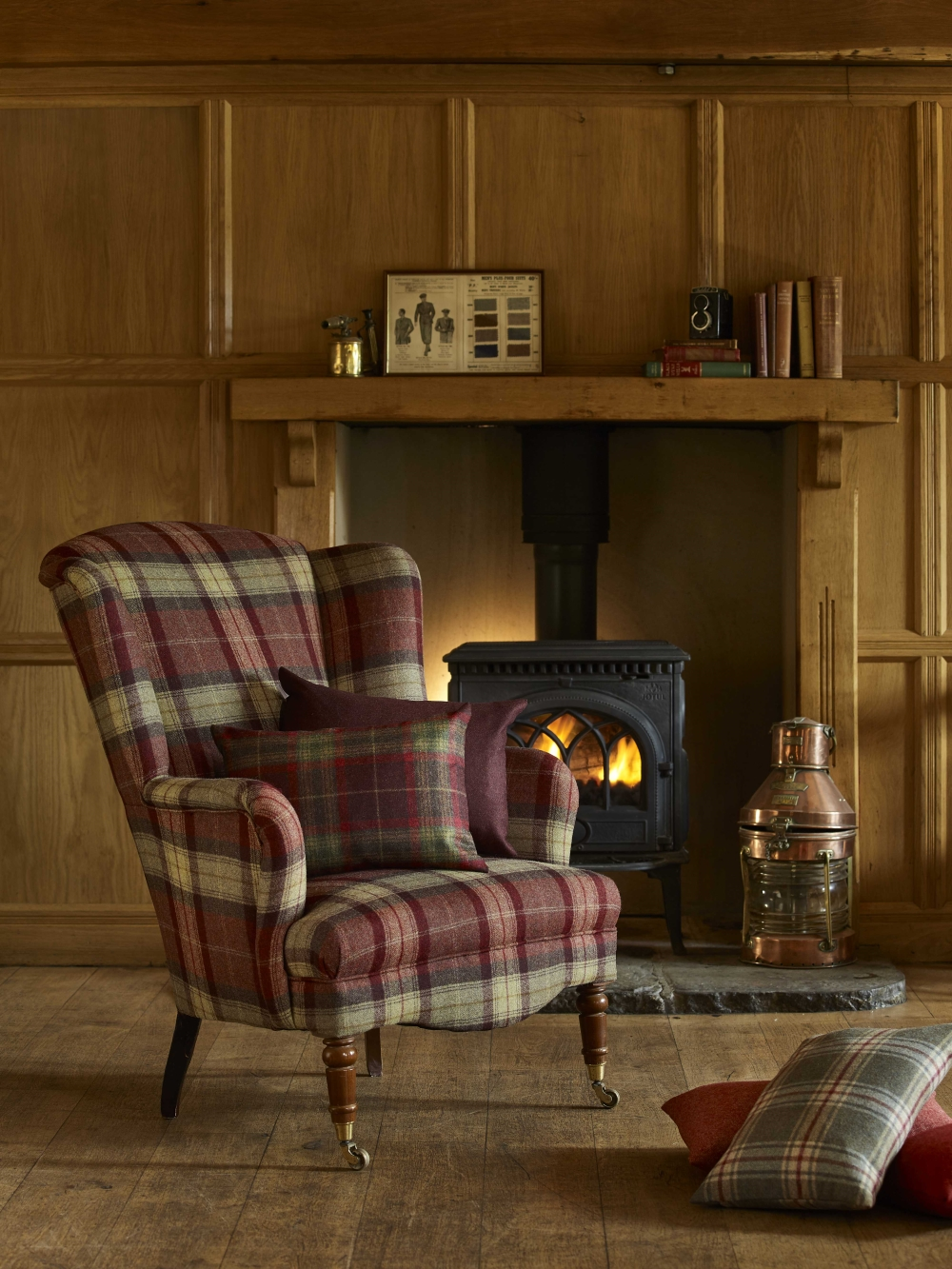 Tartan Upholstery | Elemental Collection by Abraham Moons & Co