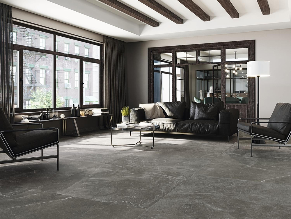 Bayona Grey Large Format Tiles | Tile Mountain