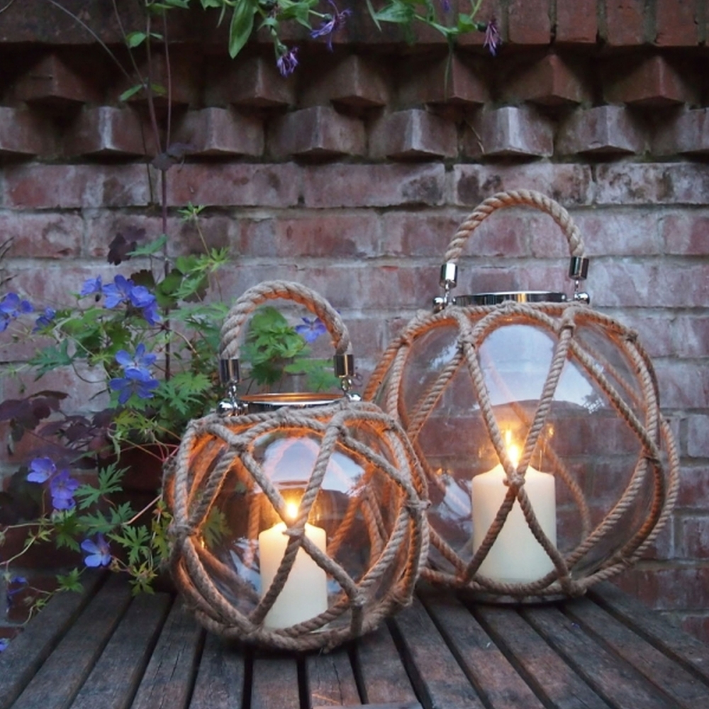 La Rochelle Globe Lanterns | Annabel James