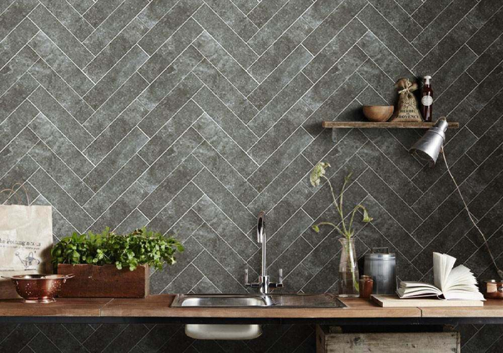 Hudson Black Wall | Tile Mountain