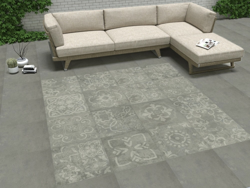 Concretia Grey Decor Outdoor Slab | Tile Mountain