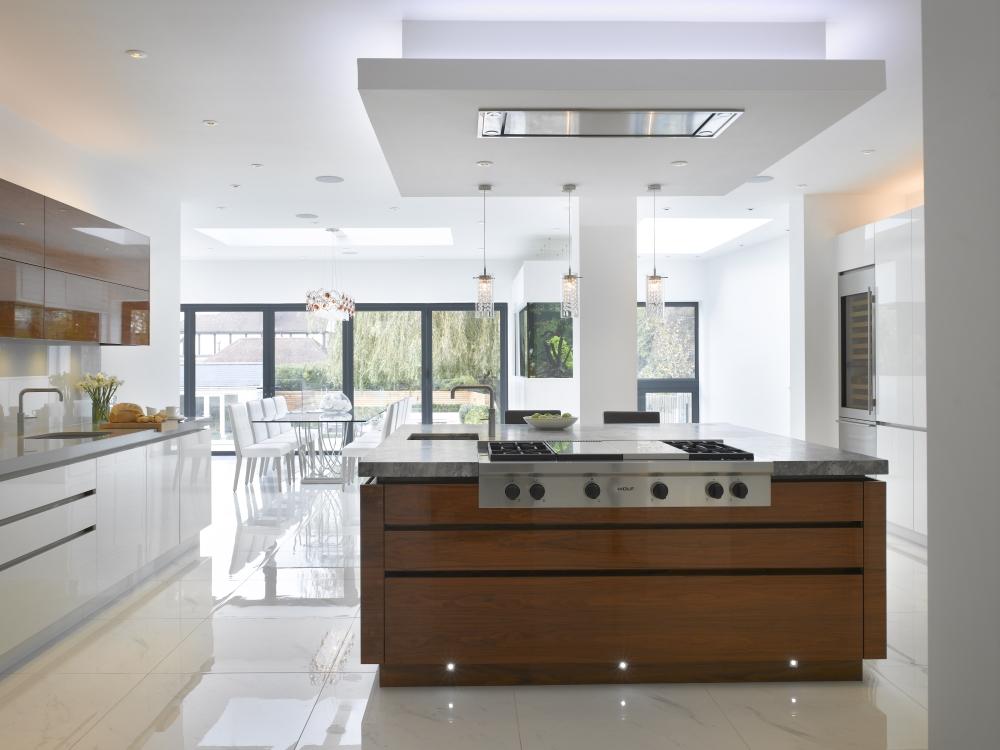 Open Plan Kitchen | Roundhouse Design