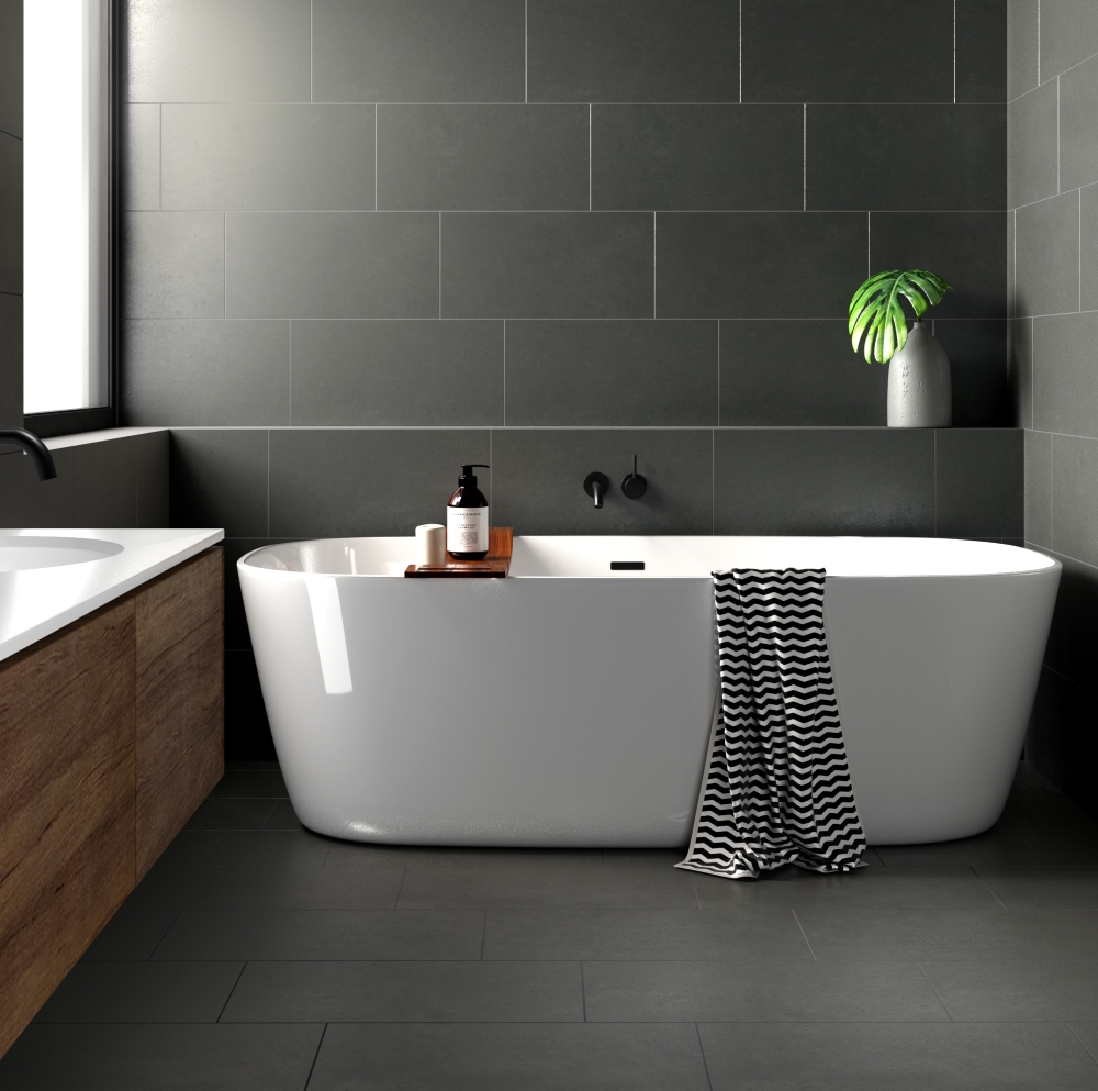 Surface Mid Grey Lappato | Tile Mountain