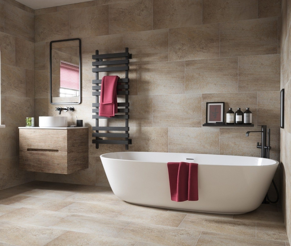 Derwent Beige Matt Wall And Floor | Tile Mountain