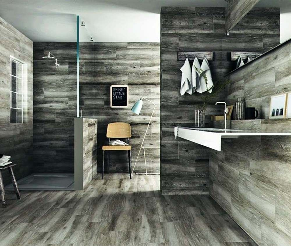 Sandalo Grey Natural Wood Effect | Tile Mountain