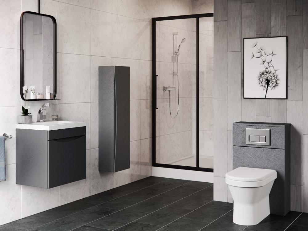 Queens Slab Front Bathroom Furniture | Mereway