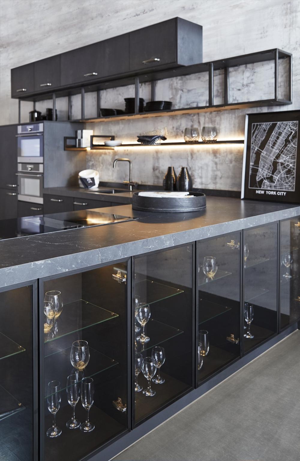 Matt Black Kitchen | Keller Kitchens