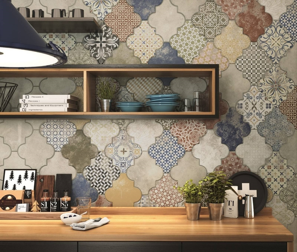 Riga Patchwork Wall and Floor | Tile Mountain
