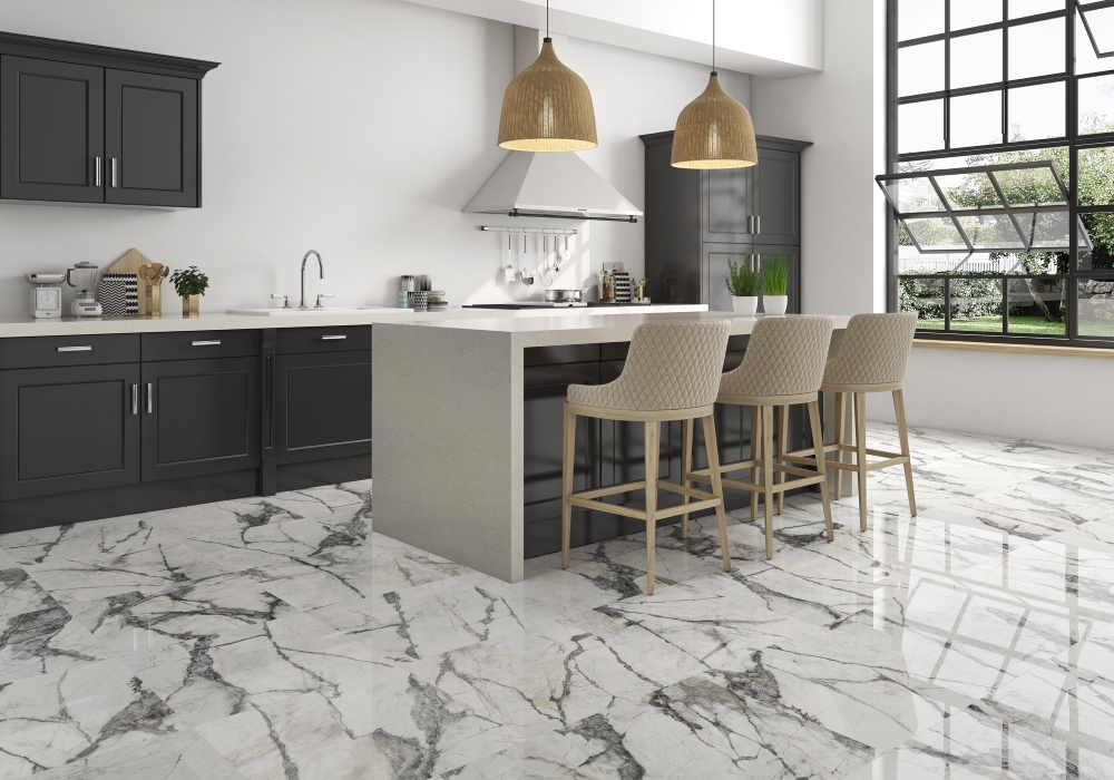 Invisible Marble Gloss Floor   Tile Mountain