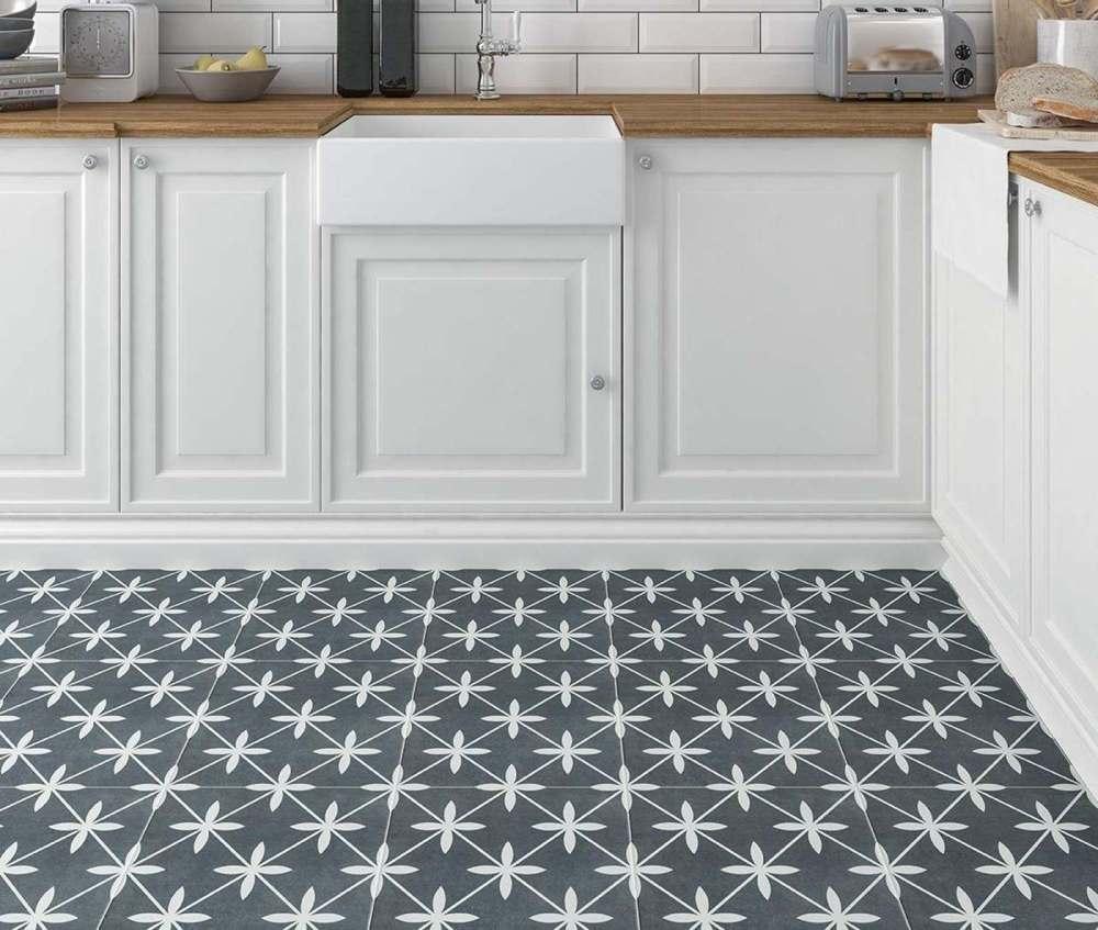 Wicker Grey Pattern | Tile Mountain