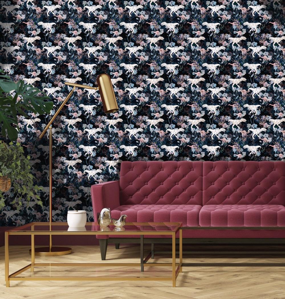 Floradactyl Wallpaper   BOBO1325