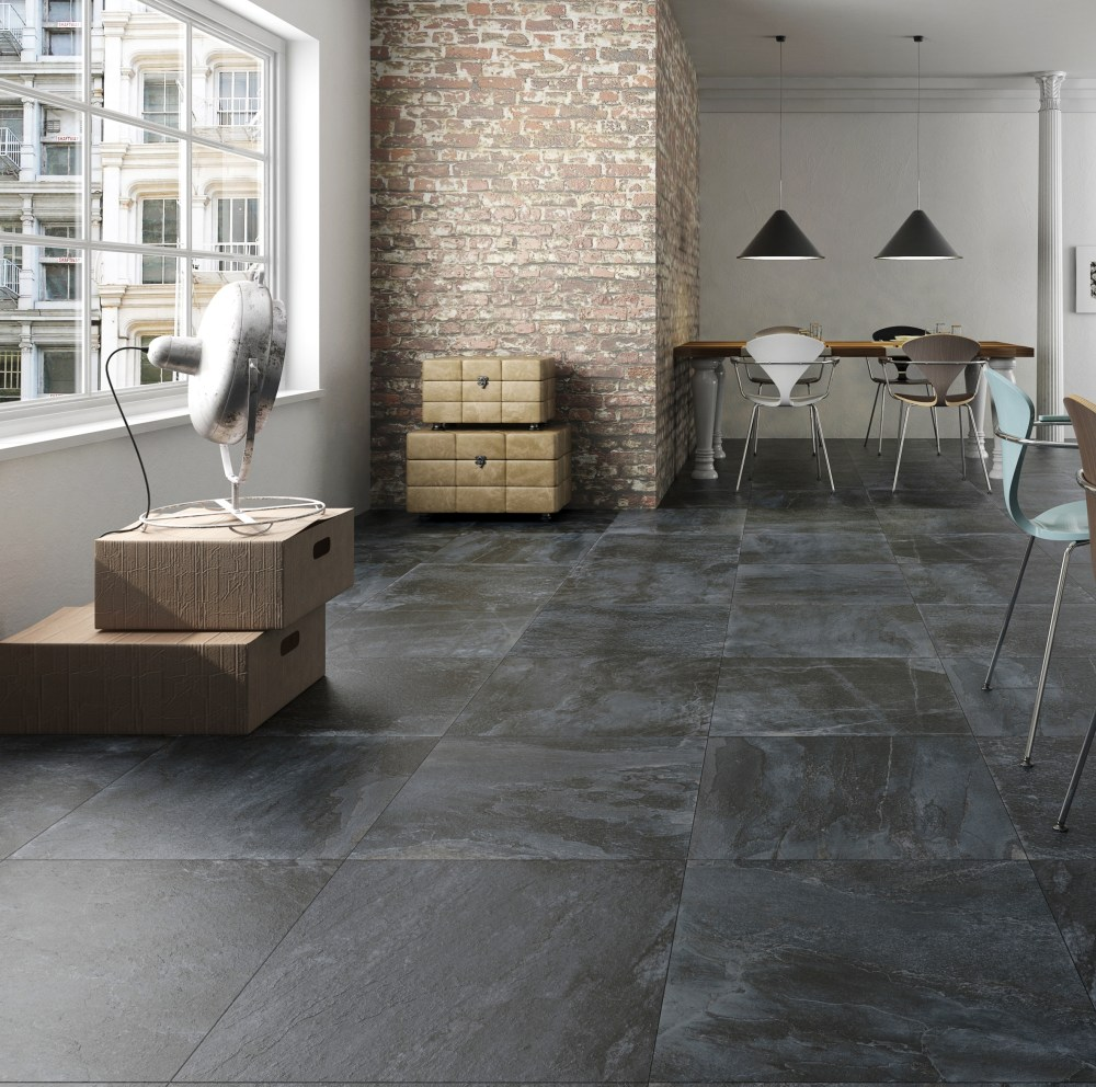 Nature Black Slate | Tile Mountain