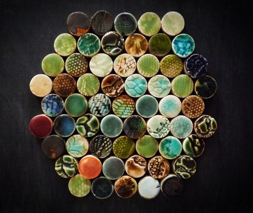 BRERA Penny Round Tiles by Guy Mitchell Design