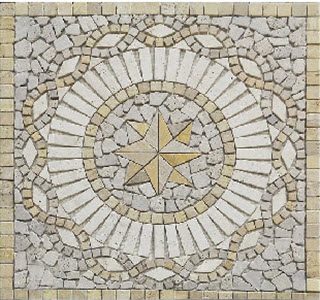 how wall and floor medallions can