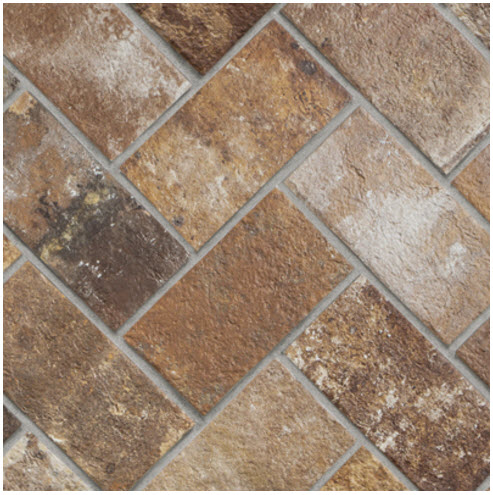 three brick look tile designs for your