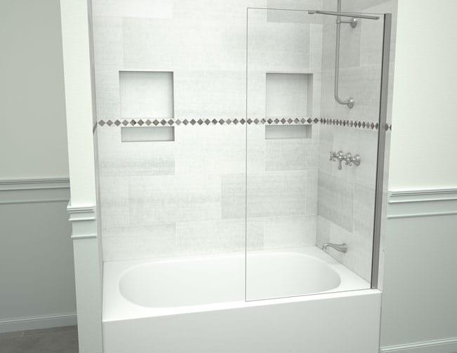 shower pans bases shelves tile redi