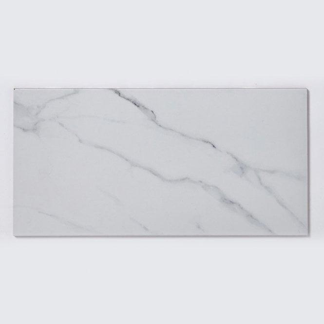 carrara white matt marble porcelain 30cm x 60cm wall floor tile