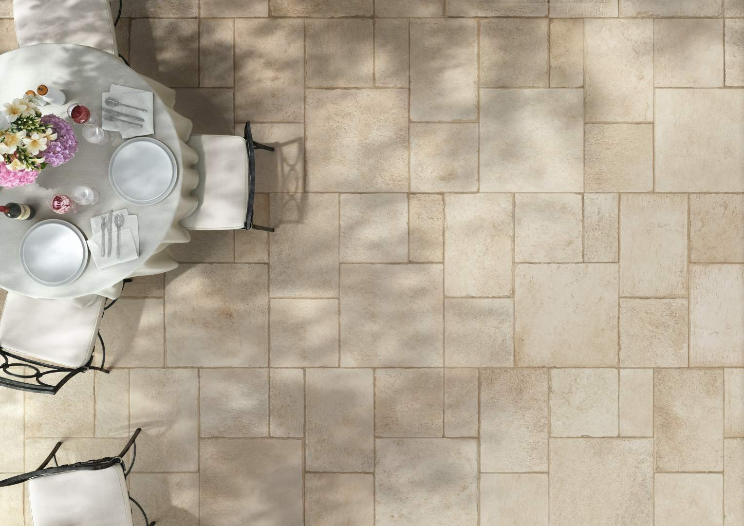 french style flagstone tiles the