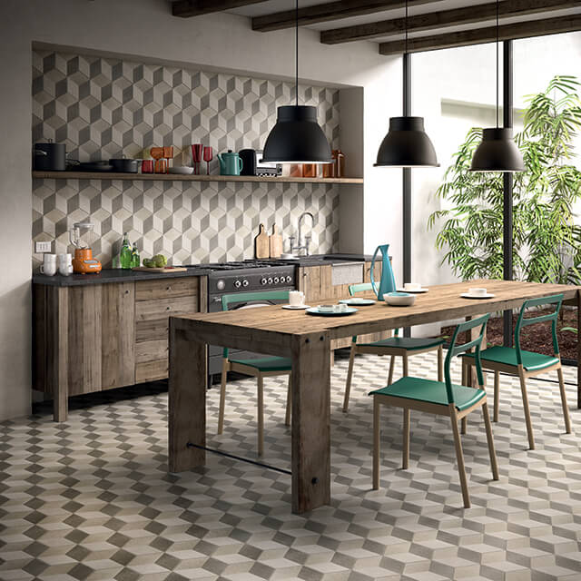 Geometric Tiles Tiles And Bathrooms Online