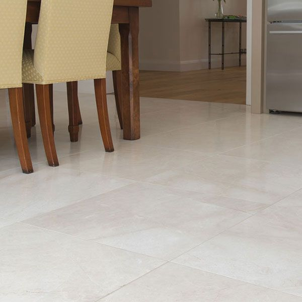 is crema marfil select polished marble 40 x 40cm