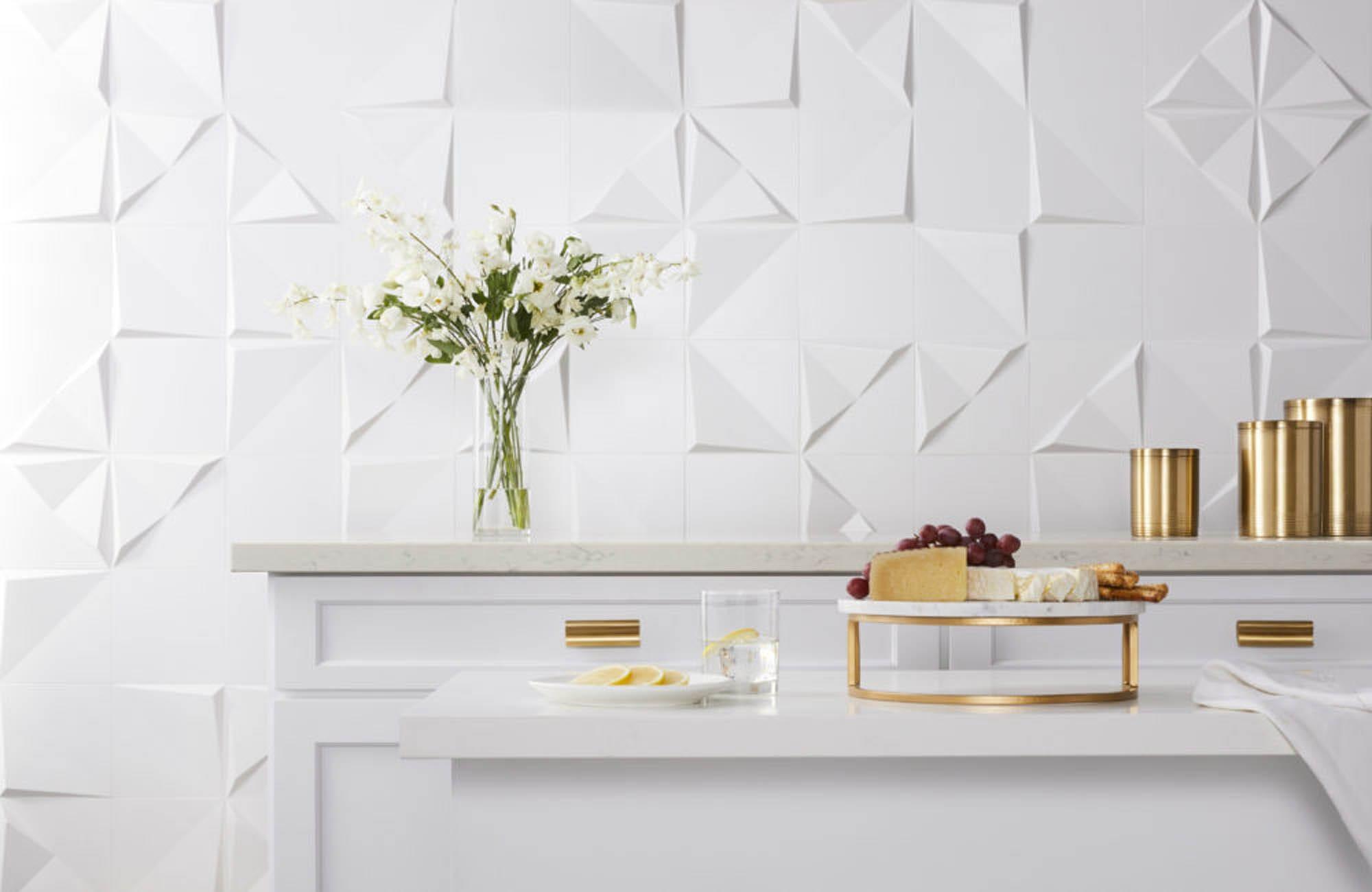 self expression through geometric tile