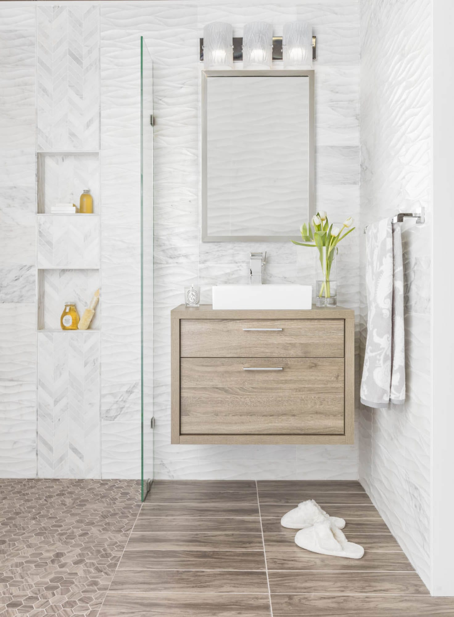 wall and floor tile combinations