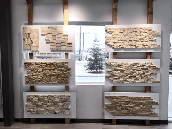 Edmonton Ledgestone Display