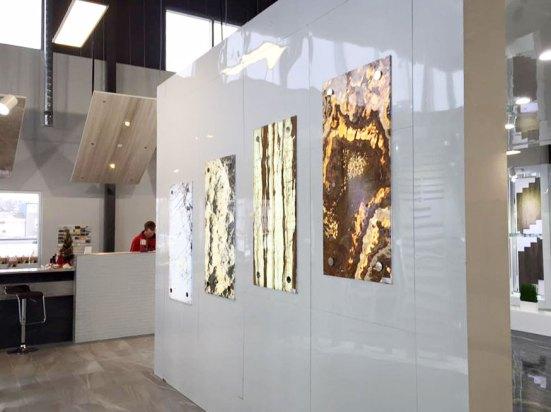 Bolder Panels Onyx Series in Edmonton Showroom