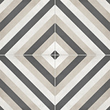 Form Diamond 8x8 Sand Deco Matte