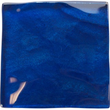Blue blue electric blue glass tile
