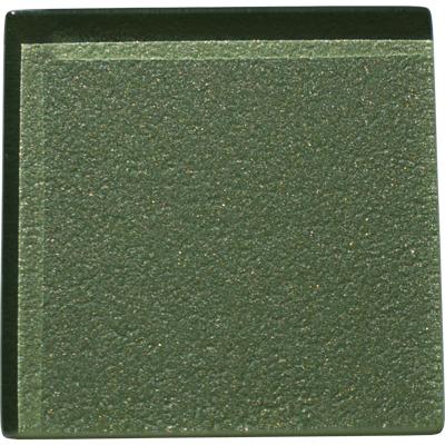 Sedge green glass tile