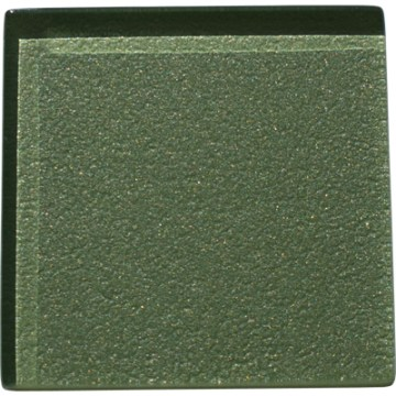 Sedge green glass tile