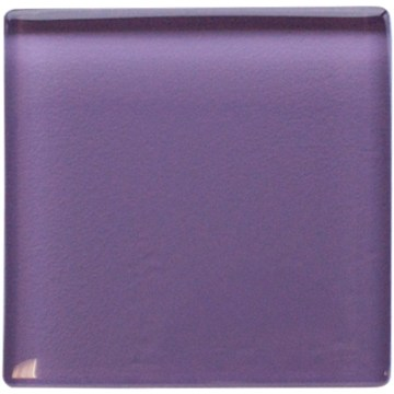 Purple glass insert 50 x 50mm