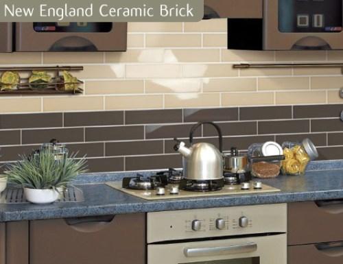 chocolate kitchen tiles