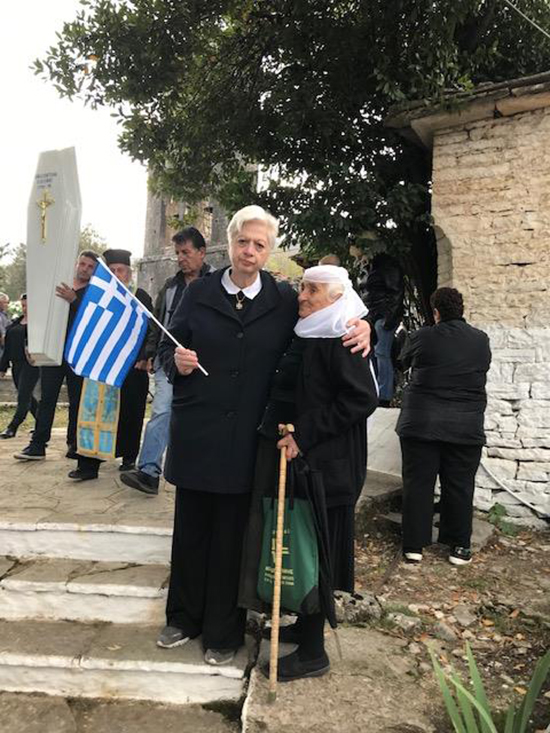 Ελένη Θεοχάρους - Αλβανία - κηδεία - Κατσίφας