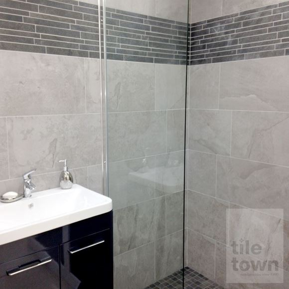 Canada Grey Stone Effect Porcelain Wall Tile