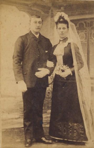 Bryllupsbilde 20 jul 1890