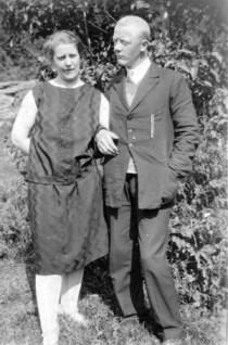 Erna og Nordahl 1929