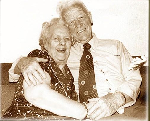 Erna og Nordahls gullbryllup i 1981