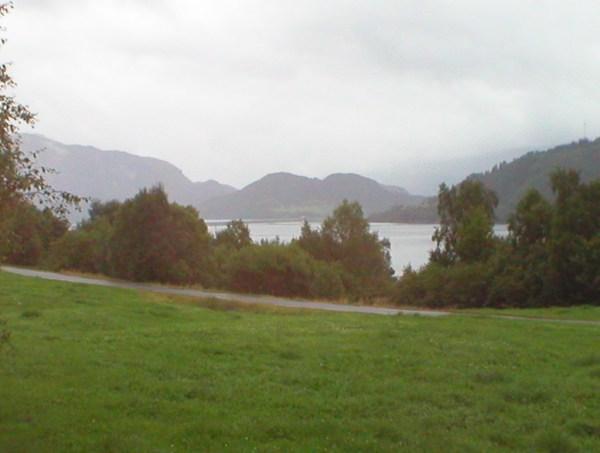 Utsikten i fra Apalseth-gården