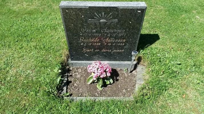Graven til farmor og farfar