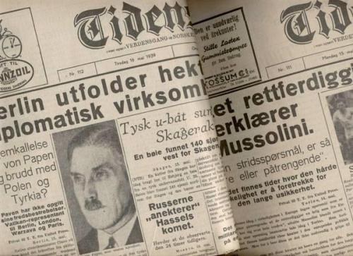 Tidens Tegn var en dagsavis som kom ut i Oslo fra 1910 til 1941