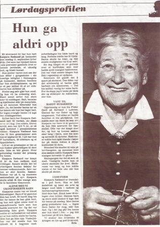 Kaspara strikket fortsatt som 90-åring