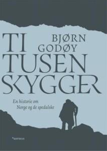 """Forsiden til """"Ti tusen skygger"""""""