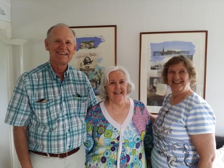 Gary, min mor Anny og Diana