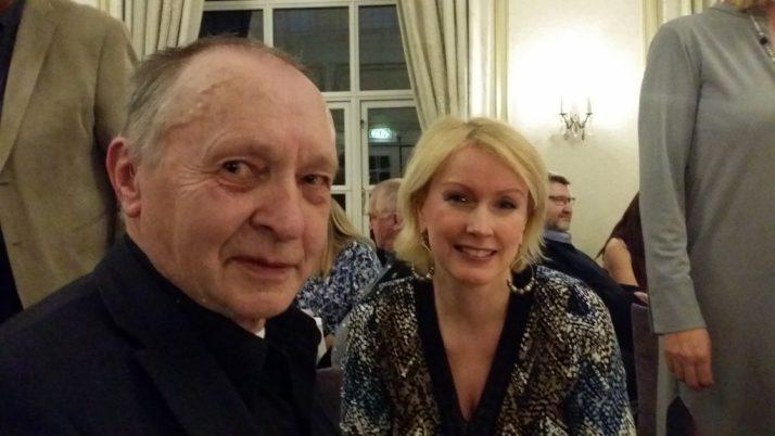 Jan Oldervoll og jeg på middagen på DIS-Norges landsmøte 2016